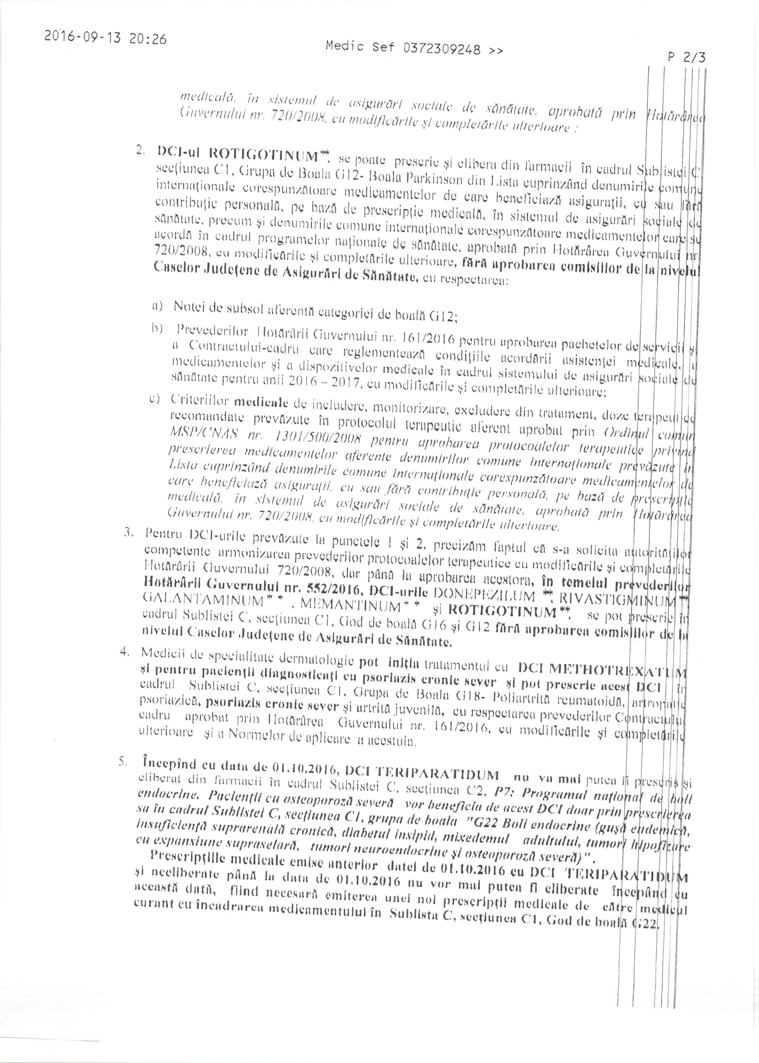 liste comune de medicamente)